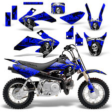 Honda CRF50 Graphic Kit MX Dirt Bike Decals Graphics Wrap CRF 50 04-13 REAP BLUE