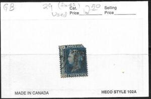 Great Britain - 29 Used - $12.50 Cat value