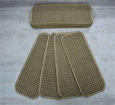 14 Stair Carpet Pads Treads  #  Natural Flat Weave  # 20cm x 50cm #