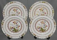 Set (4) Copeland Spode COWSLIP PATTERN Dinner Plates MADE IN ENGLAND