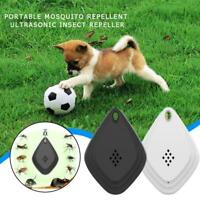 Flealess Ultrasonic Flea Tick Repeller Portable Lightweight Pest Repeller W5G3