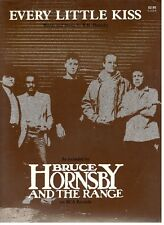 "BRUCE HORNSBY AND THE RANGE ""EVERY LITTLE KISS"" SHEET MUSIC-1986-NEW ON SALE!!"