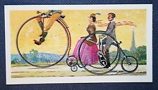 Penny Farthing Bicycle  & Coventry Rotary Sociable   Vintage Colour Card  EXC