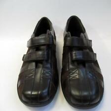 Aetrex Mary Double Strap E831W Ladies Leather Shoes with 2 Side Straps UK7 Lot A