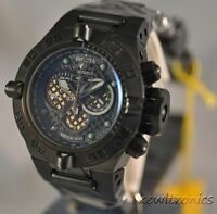 New Mens Invicta 6545 Subaqua Noma IV Chronograph Black Rubber Watch