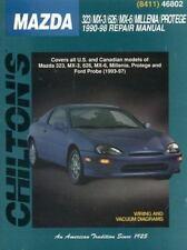 Repair, Shop Manual Mazda 323, MX-3, 626, Millenia,Protege, 1990-1998 VGC