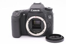 Canon EOS 70D 20.2MP Digital SLR Camera - Black (Body Only) - Shutter Count: 124