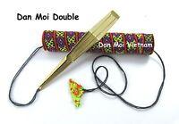 Maultrommel Dan Moi Doppezung Bass Jew's Harp / Khomus