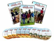 SADDLE CLUB :THE COMPLETE SERIES SEASON 1 2 & 3 -  DVD - REGION 1 - sealed