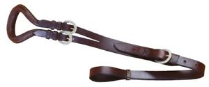 Mule Saddle Leather Crupper - Brown