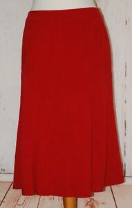 BHS, Ladies, Retro, Red, Casual, Party, Office, Skirt, size 12 (40)