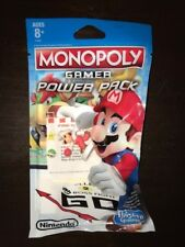 Nintendo Monopoly Gamer Power Pack Fire Mario Character New in Package