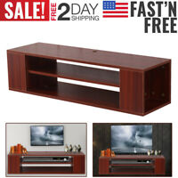 NEWEST TV Stand Table Console Media Cabinet Entertainment Center Wood Storage WF