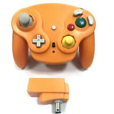 New Wireless Controller for Nintendo GameCube or Wii - SPICE ORANGE