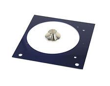 Tuning Set (1) für Thorens TD 150 - Faceplate blau metallic + Plattengewicht