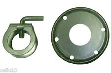 """ROHN Guy Ring and Clamp Assembly for up to 1-1/2"""" Antenna Masts - 1.50"""" USA Made"""