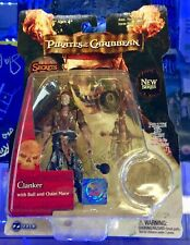 PIRATES OF THE CARIBBEAN ZIZZLE CLANKER ACTION FIGURE - SIGNED ANDY BECKWITH/POA