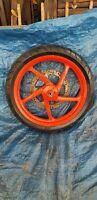 Roue Avant Aprilia RS 50 17 P , Pneu Michelin 100/80-17 , Jante Rs 50 , Roue RS