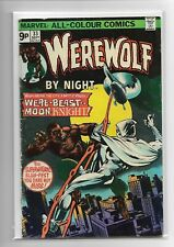 More details for werewolf by night #33 moon knight marvel comics