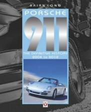 Book Porsche 911 - The Definitive History 2004-2012 Chassis Numbers Model Range