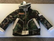JD Fashions Custom Men's Camo Jacket with Sherpa Lining Size XL