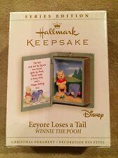 HALLMARK~2006~Keepsake Ornament~Eeyore Loses a Tail~Series Edition~Disney~NIB~9