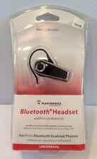 Nip Plantronics Universal Pbt232Z Black Bluetooth Headset Verizon Msrp $39.99
