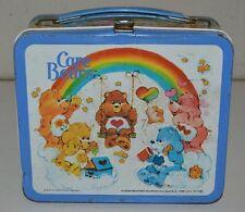 Vintage 1983 Care Bears Cartoon TV Show Metal Lunchbox C6.5+ Rare
