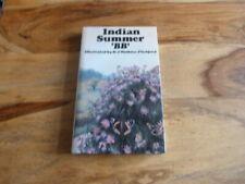 NEW NATURALIST INTEREST BB WATKINS PITCHFORD INDIAN SUMMER SIGNED