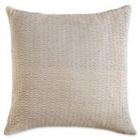 DKNY Motion European Pillow Sham in Oatmeal Set of 2 Shams Dorm Room