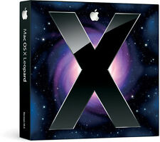 Retail Apple Mac Leopard OS X 10.5 w/ OS 10.5.8 ComboUpdate DVD