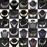 Fashion Charm Women Metal Chunky Statement Bib Choker Pendant Necklace Chain