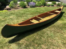1912 Kennebec Wood Canoe 17'