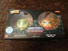 Dorbz 2 Pack MOTU Masters of the Universe Flocked Moss Man/Beast Man 3000 PCS