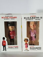 Queen Elizabeth and Royal Guard Collectible Bobble Head Set