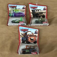 Lot 3 Desert series Disney Pixar Cars New diecast Wingo Mater Sarge Mattel