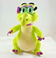 Disney Parks Allie Alligator Plush Where's My Water? Embroidered Features 12""