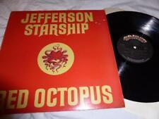 JEFFERSON STARSHIP - RED OCTOPUS , GRUNT 1975 , EX/EX ,LP
