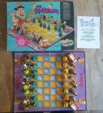 Flintstones 3D Chess Set Character 32 Pieces Hanna Barberra Vintage Retro 1995