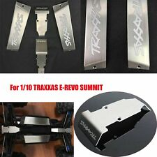 Steel Chassis Armor Skid Plate Battery Protector for 1/10 TRAXXAS E-REVO SUMMIT