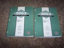 2003 Chevy Chevrolet Malibu Factory Workshop Shop Service Repair Manual Set 1-2