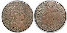 ITALIE SARDAIGNE 20 SOLDI 1795