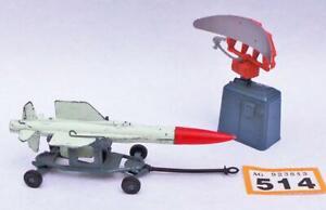 #514 Corgi 350 Thunderbird Guided Missile and Trolley + 353 Radar Scanner