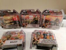Jurassic World 3.75� Action Figure - Set of 5- Mattel