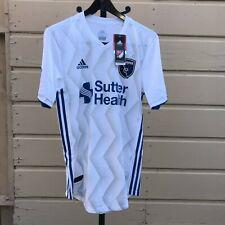 Adidas San Jose Earthquakes Authentic Secondary Away Jersey MLS Men Medium 2018