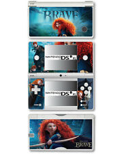 Autocollant Peau Vinyle courageux pour Nintendo DSi XL