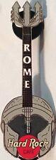 Hard Rock Cafe ROME 2002 Gladiator Helmet Guitar PIN w/ Trident Headstock #14119