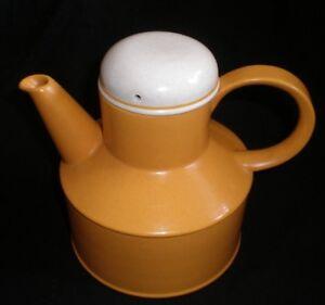 VINTAGE RETRO MIDWINTER STONEHENGE ORANGE TEA COFFEE POT [30]