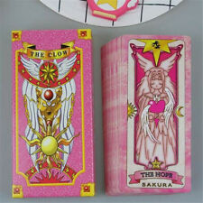 Anime Cardcaptor Sakura Clow Cards Cosplay Fortune Tarot Card Captor Full Set