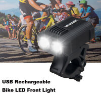 MTB Bike Dual LED 1000LM Bright Front Light Mount Bike Headlamp High Endurance A